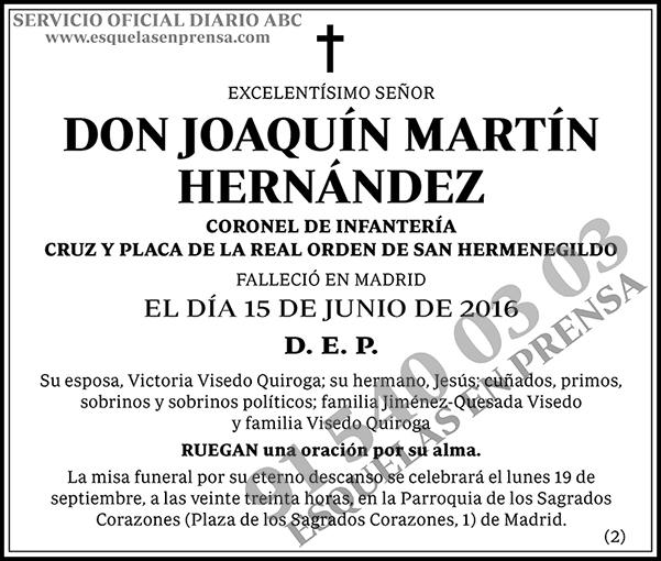 Joaquín Martín Hernández